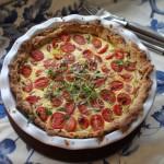 Äidin reseptillä: Ranskalainen tomaattipiirakka