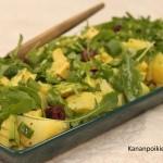 Avokado-perunasalaatti
