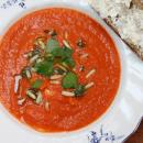 Tomaatti-vuohenjuustokeitto