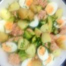 Kesäpäivän lounaaksi Nizzan salaattia