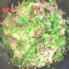 Wokissa: Naudanlihaa ja kasviksia