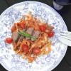 Sunnuntaipäivän mukavuusruokaa: Paahtopaistipasta