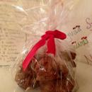 Koululaisen suklaiset lahjacookiet