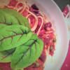 Koko perheen spaghetti puttanesca