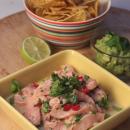 Rennosti: Lohiceviche, guacamole ja nachot