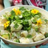 Mehevä perunasalaatti – myös lasten makuun!