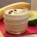 Pähkinäinen banaanipehmis
