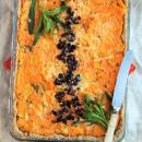 Mehevä porkkana-rakuunapiirakka