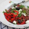 Kreikkalainen salaatti linsseillä