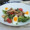 Nizzan salaatti couscousilla