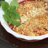 Mantelinen luumucrumble (gluteeniton)