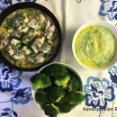 Isälle: Ahvenrullat, tillimuussi ja sitruunaista parsakaalia + lisää vaihtoehtoja