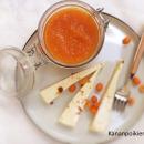 Porkkana-tyrnihillo & leipäjuustoa
