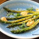 Sumakilla maustettua parsaa & chilihummus