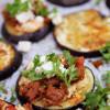 Munakoisopizzat nyhtökauralla & chilihummuksella