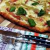 Raparperi-pekonipizza