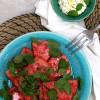 Marinoitua vesimelonia & fetamousse