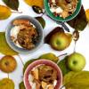 Pähkinäiset uuniomenat