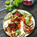 Nyhtökaura-mozzarellasalaatti
