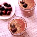 Kirsikka-suklaasmoothie