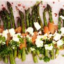 Parsaa, sitruunamarinoitua fetaa ja kylmäsavulohta