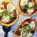 Kahden raaka-aineen pizzapohja
