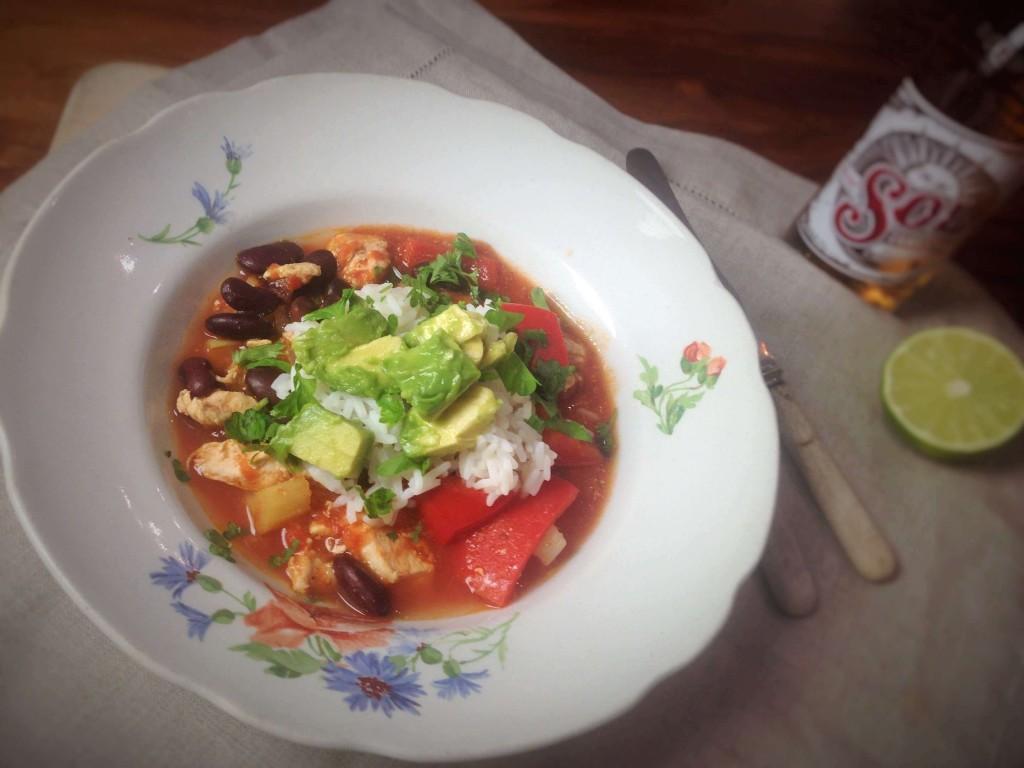 Meksikolainen kanapata