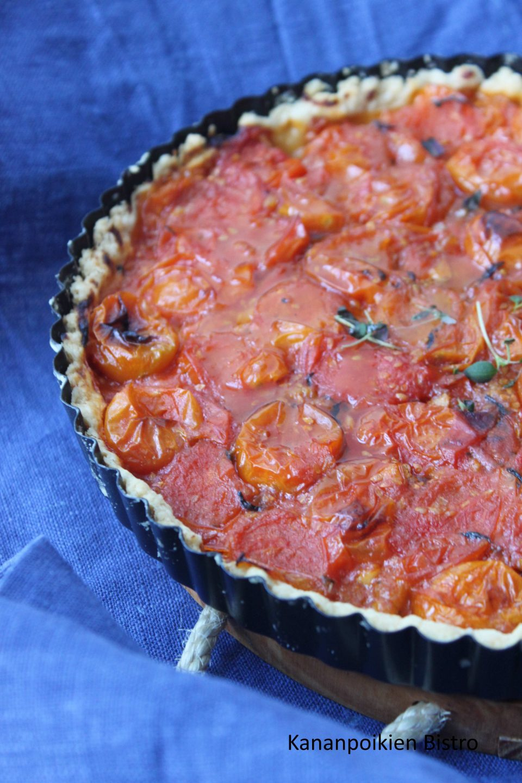 Ranskalainen tomaattipiirakka
