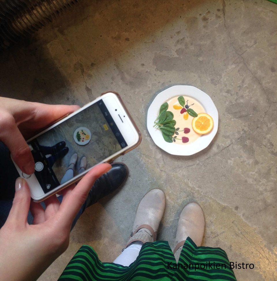 Ruokataidetta ja kuvausta
