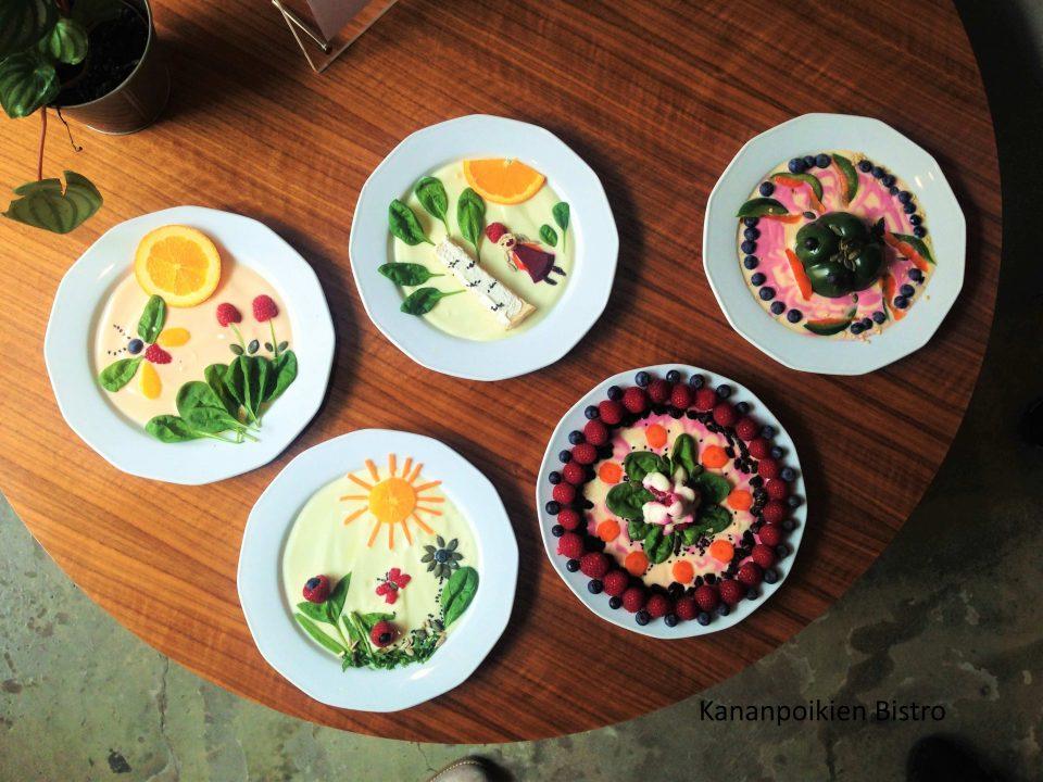 Bloggarreiden ruokataidetta aiheesta luonto