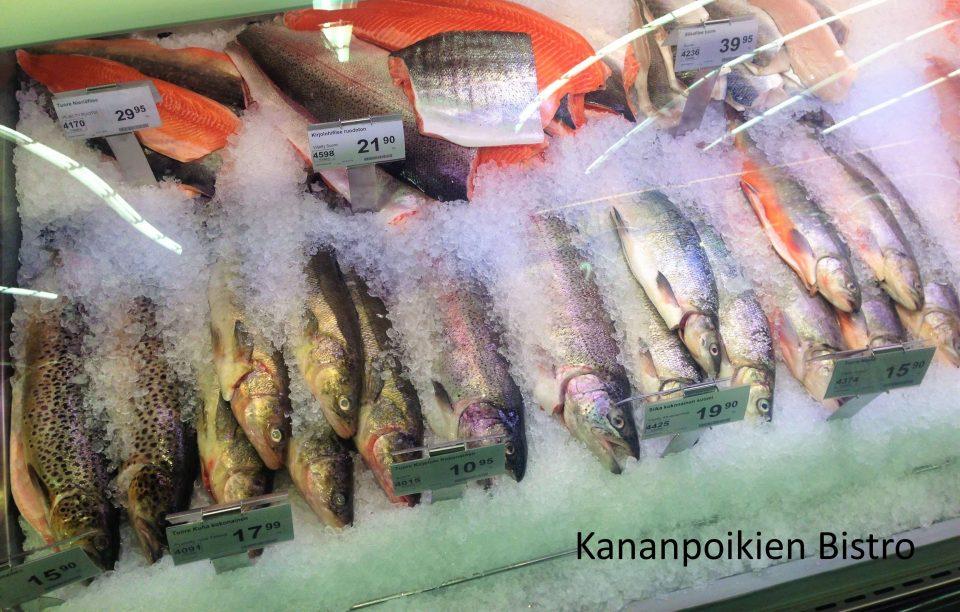 K-Supermarket Laajasalon kalatiski