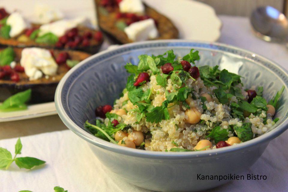 Kvinoa-tabbouleh